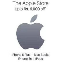 Upto Rs.9000 Off Off on Apple Products – Paytm