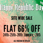 Freecultr Republic Day Sale