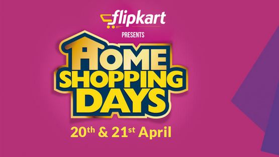 Flipkart Home Shopping Days April