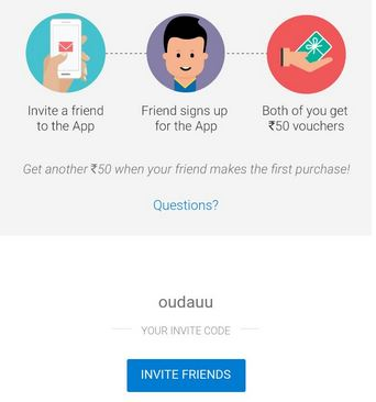 Flipkart Invite and Earn : Flipkart Invite Code