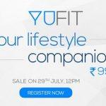 Yu Yufit Band Registration