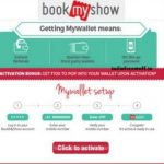 Bookmyshow wallet Rs150 mywallet money