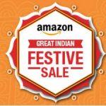 Amazon Electronics Lightning Deals : Amazon Great Indian Festive Sale offers on Electronics