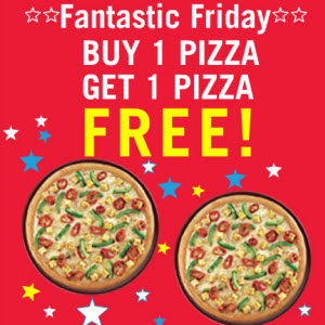 Pizza buy one get one free offer - Cheap ballet tickets nyc