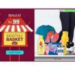 Ebay 99 Store : eBay Monthly Basket - Deals at Rs.98