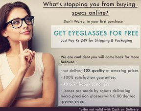 Vincent Chase Eyeglasses with Lens Rs. 249
