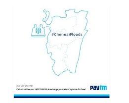 Paytm Chennai Free Recharge - Paytm Chennai Rs.30 Recharge - Paytm Stay Safe Campaign