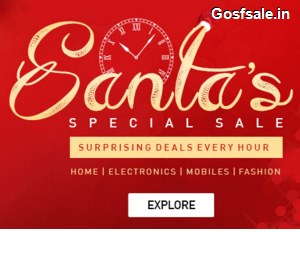 Snapdeal Christmas Offer - Snapdeal Christmas Deals Every Hour on Mobiles,Electronics & Fashion