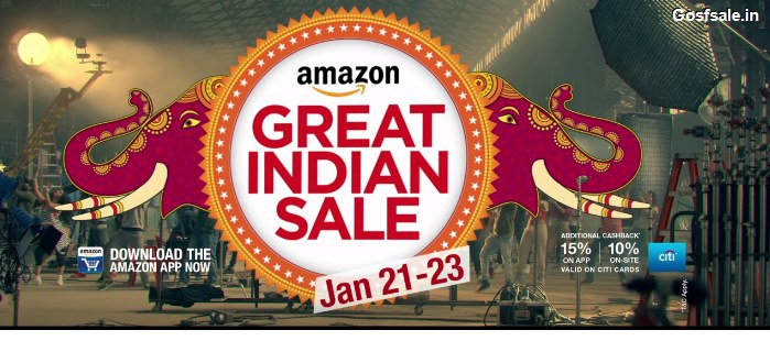 Amazon Great Indian Festival | Up to 55% OFF on Electronics