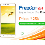 Freedom 251 Booking : Freedom251 Sale : Buy Smartphone @ Rs.251 : 18th February Sale