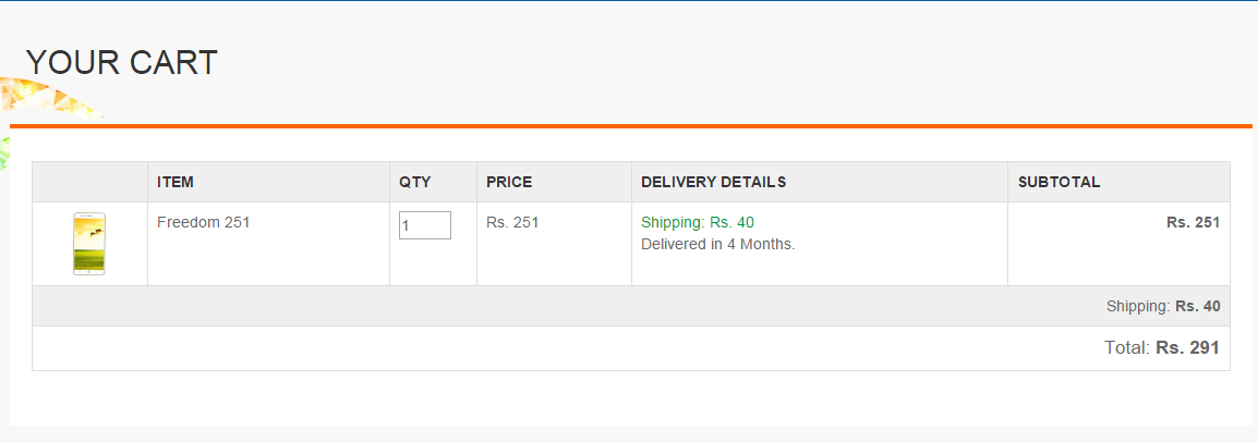 How to Add Freedom 251 in Cart : Updated Link ( Bypass Heavy Traffic ) : Buy Freedom251 Trick