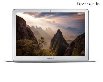 Apple MacBook Air MJVE2HN/A Rs. 56299 (HDFC Debit Cards) or Rs. 56799 – SnapDeal