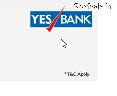SnapDeal Yes Bank Offers 2016 : Yes Bank Cashback Offer - SnapDeal 10% off on Purchase of Rs. 4000
