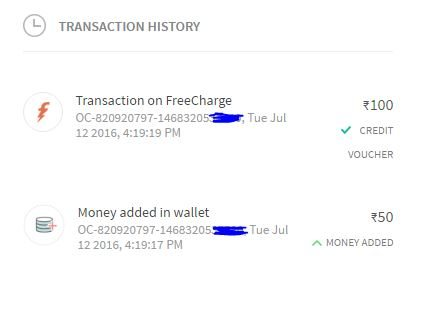 add money to freecharge wallet promo code freecharge get100 promo code rs 100 cashback on adding 13547