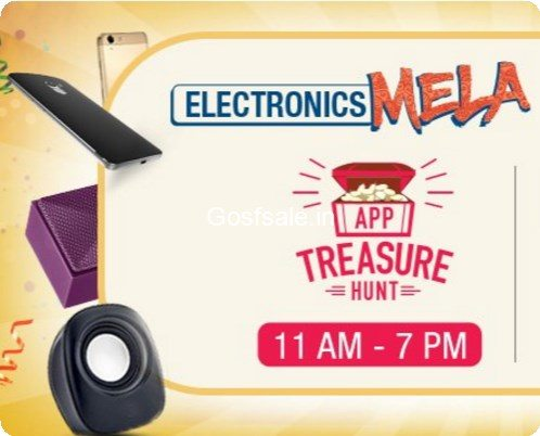 Amazon App Treasure Hunt Answers : 8th September : Electronics Mela 8-9th September