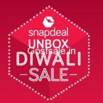SnapDeal Unbox Diwali Sale 2nd - 6th October