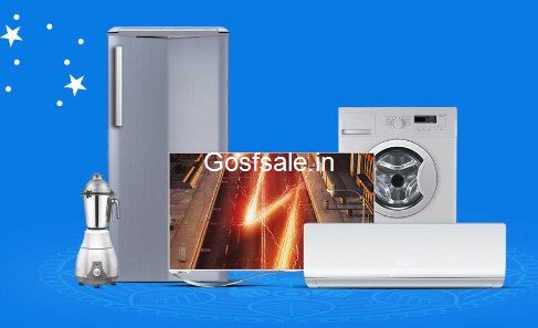 Flipkart Large Appliances Diwali Sale : Large Appliances Sale - Diwali Offer on TV's & Appliaces