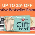 Gift Cards upto 50% off – Amazon Great Indian Festival Offers on Gift Cards