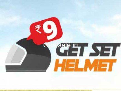 Helmets @ Rs. 9 – Droom