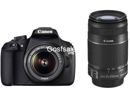 Canon EOS 1200D Dual Kit DSLR Camera