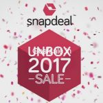 Snapdeal Unbox 2017 Sale : 17th to 19th Dec 2016