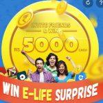 9Apps Enter Code : 9Apps Rs.5000 Cash : 9Apps Win E-Life Surprise