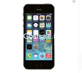 Apple iPhone 5S 16GB 11.9cm : Rs.17499 - Snapdeal