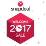 Snapdeal Welcome 2017 Sale - Snapdeal Welcome Sale - 8th - 9th Jan 2017