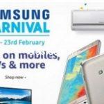 Amazon Samsung Carnival : 21st - 23rd February 2017