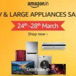 Amazon TV & Appliances Sale 24 - 28 March