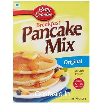 Flat 54% off on Betty Crocker Pancake Mix,Original 500g @ Rs.98 - Amazon India