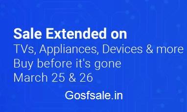 Flipkart Big Electronics Sale (25-26 March) | Deals on Ac,TVs, Laptops and more