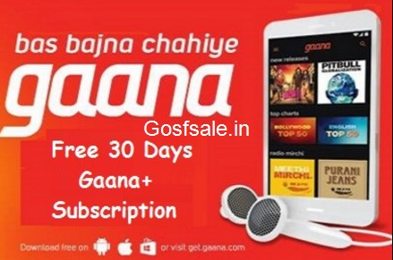 Gaana Referral Code : Free 30 Days Gaana+ Subscription : Gaana Refer and Earn