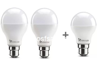 Syska Led Light 15W Pack of 2 + Free 9W LED @ Rs.199 - Flipkart ( Normal Price - Rs.549 )