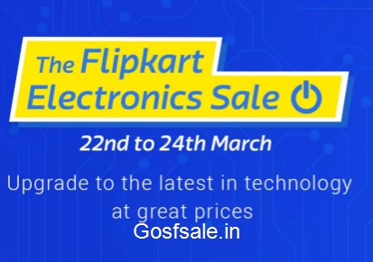The Flipkart Electronics Sale - Biggest Sale on Electronics - Sale of the Year