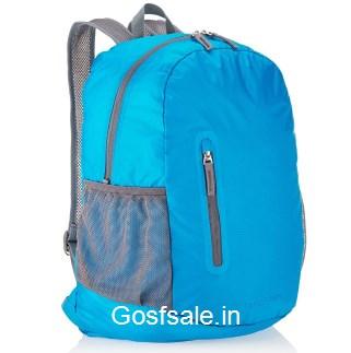 AmazonBasics Ultra thin Foldable Day Pack Light Blue, 35L @ Rs.449 - Amazon India