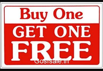 Amazon buy one get one free