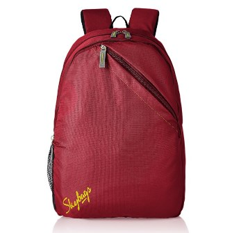 Flat 70% off on Skybags Brat 21 Ltrs Red Casual Backpack @ Rs.479 : Amazon