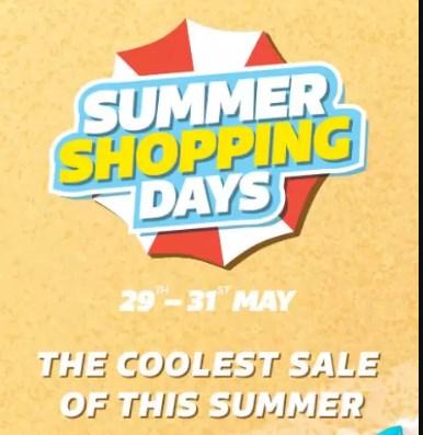 FlipKart Summer Shopping Days 29-31 May Live
