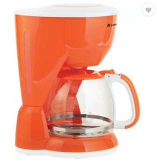 Flat 74% off on Wonderchef 63151724 10 cups Coffee Maker @ Rs.635 - Flipkart