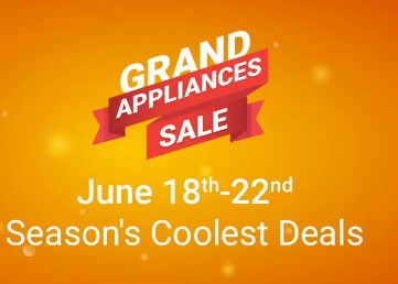 FlipKart Grand Appliances Sale - Father's Day Offers 2017
