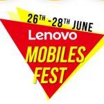 FlipKart Lenovo Mobiles Fest