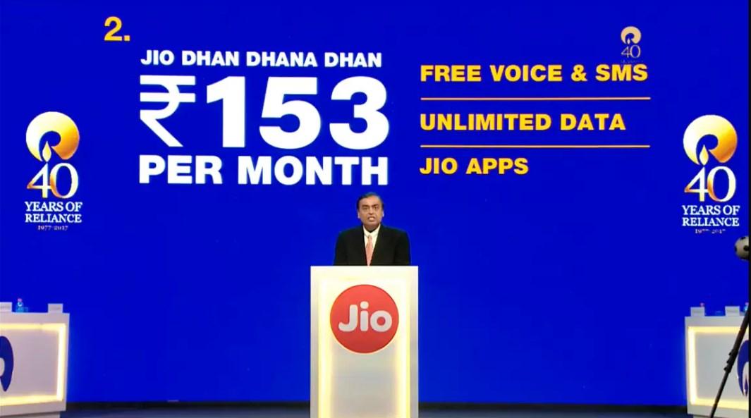 JioPhone Data Plans