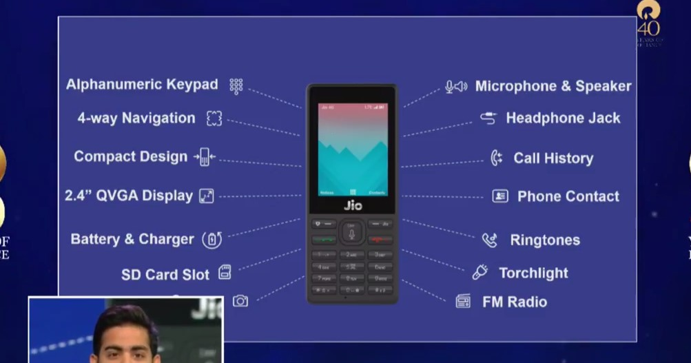 JioPhone Specs and Features