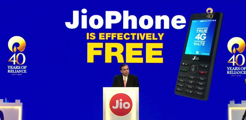 Rs.0 Jio Phone - JioPhone Rs.0 - Jiophone PreBook