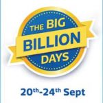 20th September Sale - Flipkart Big Billion Days : 20th Sep - 24th September