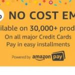 [Credit Cards] Amazon No Cost EMI