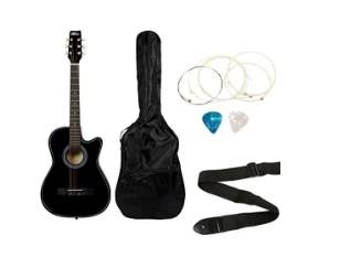 Intern Acoustic Guitar Kit INT-38C Rs. 1899 – Amazon