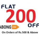 Jabong Rs. 200 off on Purchase of Rs. 500 [Working on Discounted Products] - Jabong