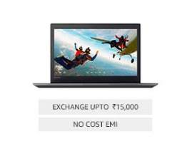 Upto 20% on Laptops  – Amazon